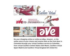Enter www.aveonline.co  and create your virtual locker to get an address ... in your home, office or authorized sales point in Colombia Quickly .