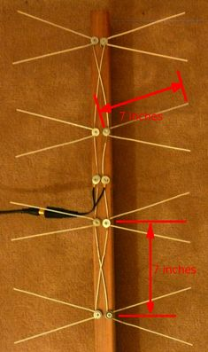 33 Best homemade TV Antennas images | Diy tv antenna, Ham