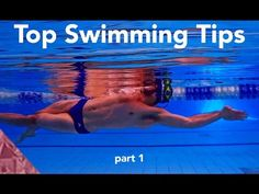 Top 20 tips to swim faster. Part 1. Swimming advice - YouTube