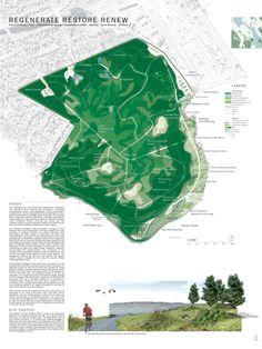Concurso: Point Pleasant Park. Halifax, Nova Scotia, Canadá. 2005. Finalista. Autores: North Design Office (Peter North e Alissa North). Estágio 02. P01/P04.