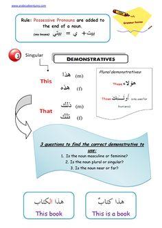 Posts about Arabic Grammar written by Arabicadventures English Language Course, English Language Learning, Arabic Verbs, Learn Arabic Online, Arabic Lessons, English Study, Learn English, Arabic Alphabet, Learn Quran