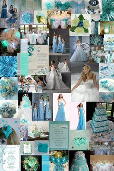 Tiffany Blue Wedding | Our Wedding Colors | No longer unemployed, no longer a bride...