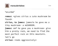 Gay Harry Potter, Harry Potter Marauders, Harry Potter Tumblr, Marauders Era, Harry Potter Universal, Funny Yearbook Quotes, Film Anime, Wolfstar, Book Memes