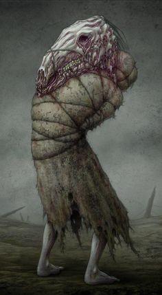 Sweetly demented horror art from –> jflaxman Creepy Art, Scary, Dark Fantasy, Fantasy Art, The Dark Side, Arte Obscura, Macabre Art, Creature Concept, Monster Art