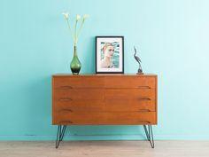 TEAK Sideboard, Kommode, 60er Jahre, 50er von MID CENTURY FRIENDS auf DaWanda.com