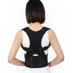 mangetic back posture corrector : neoprene material , size;L/M.S , OEM , FBA service is available Back Posture Corrector, Oem, Magnets, Confidence, How To Wear, Therapy, Train, Fashion, Moda