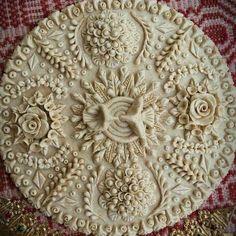The most amazing pie crust design! Creative Pie Crust, Beautiful Pie Crusts, Pie Crust Designs, Pie Decoration, Pies Art, Pastry Design, Bread Art, Pastry Art, Pie Crust Recipes