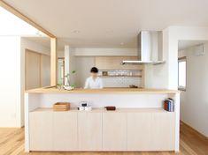 Japanese Modern House, Japanese Home Decor, Interior Design Portfolios, Salon Interior Design, Küchen Design, House Design, House Furniture Design, Japanese Interior Design, Minimalist Home Decor