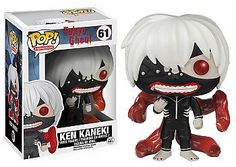 From the hit anime Tokyo Ghoul, Ken Kaneki, as a stylized POP vinyl from Funko! Stylized collectable stands 3 inches tall, perfect for any Tokyo Ghoul fan! Collect and display all Tokyo Ghoul and anime Pop! Figurines D'action, Pop Figurine, Tokyo Ghoul Funko Pop, Ken Kaneki Tokyo Ghoul, Death Note Near, Ken Anime, Anime Manga, Pop Vinyl Figures, Anime Pop Figures