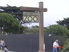 San Francisco Zoo - so many childhood memories here. I am so happy that the new animal enclosures have changed from the cement ones to a more natural ones.