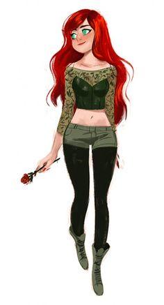 Helen Chen Poison Ivy- love it! .... she kind of looks like me lol