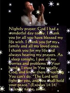Night Prayer Home Decor gold home decor Prayer Scriptures, Bible Prayers, Faith Prayer, God Prayer, Catholic Prayers Daily, Prayer For Peace, Angel Prayers, Bible Verses, Morning Inspirational Quotes