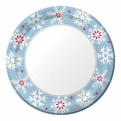 Nordic Snowflakes 9-inch Foil Stock Paper Plates 8 Per Pack by Creative Converting. $5.48. Design is stylish and innovative. Satisfaction Ensured.. Manufactured to the Highest Quality Available.. Creative Converting is a leading manufacturer and distributor of disposable tableware including high-fashion paper napkins plates cups and tablecovers in a variety of solid colors and designs appropriate for virtually any event