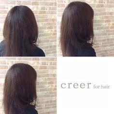 本日のお客様 明るくなって赤みの出やすくなっていたヘアアッシュグレーで 秋色カラーにチェンジしました 話題のカラー剤THROW使用しましたご来店ありがとうございます()#美容室 #THROW #鹿児島市 #アッシュグレー #creer_for_hair
