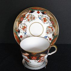 Spode Imari Cup & Saucer, Early 19th C, Antique c1811