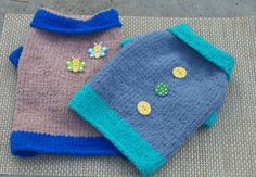 Fancy Pet Clothing Hand Knit Pet Clothes Warm Dog Sweater