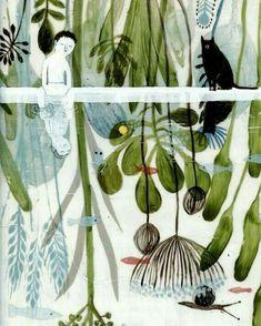 "121 Likes, 3 Comments - @illustroom on Instagram: ""Violeta Lopiz  #illustroom #art #illustration #illustracion #ilustracion #ilustración…"""