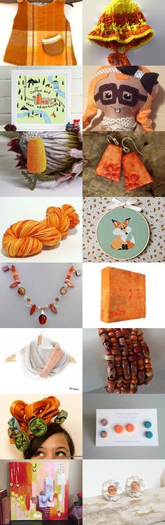 Orange is the happiest colour by Rachel on Etsy--Pinned+with+TreasuryPin.com