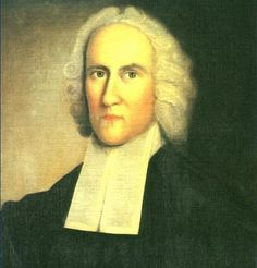 Aaron Burr's grandfather, Jonathan Edwards, famous Calvinist theologian