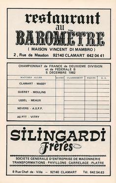 Calendrier 1982-1983 - 2ème Division - Page 22