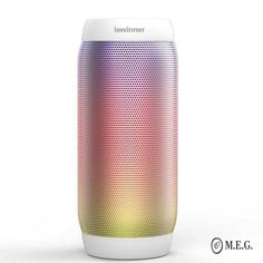 lewinner colorful Waterproof LED Portable Bluetooth Speaker Wireless Super Bass Mini Speaker with Flashing Lights FM Wireless Speaker System, Waterproof Bluetooth Speaker, Bluetooth Speakers, Portable Mini Speaker, Audio Player, Record Player, Flashlight, Bass, Surround Sound