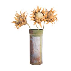 2-Pc. Bullet Vase & Stand