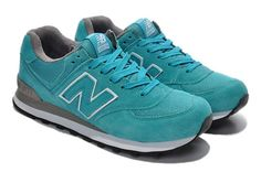 New Balance US574M1 Made In USA Lake Blue Womens Sneakers