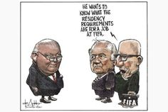 Mike Duffy would be a perfect fit for a FIFA job.