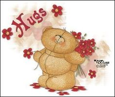 Forever Friends Bear - HUGS