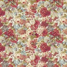 Sanderson Rose Stash Fabrics, Vintage Farmhouse, Quilt Top, Floral Fabric, Peony, Fabric Design, Vintage Inspired, Roses, Colours