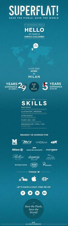 50 Creative CV/Resume Design Inspiration Graphic Design