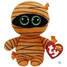Ty Beanie Babies Ty Halloween Beanie Babies Boos Mask Mummy Plush Soft Toy With Tags Ty Beanie Boos, Beanie Babies, Ty Babies, Ty Animals, Plush Animals, Fete Halloween, Halloween Boo, Halloween Decorations, Halloween Beanie Boos