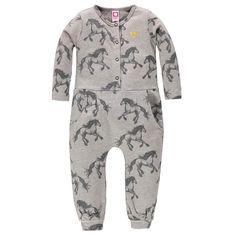 Baby Jumpsuit Horse Print