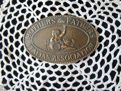 Vintage Brass Belt Buckle  Belt Buckle by JewelsOfHighElegance