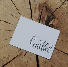 #handlettering #card #friend #hug #knuffel #zomaar #kaartje