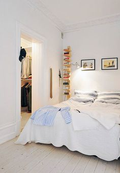 scandinanvian white bedrooms / sfgirlbybay