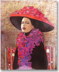 Mysterious female portraits by Richard Burlet Female Portrait, Portrait Art, Female Art, Portraits, Woman Painting, Figure Painting, Richard Burlet, People Illustration, Women Figure
