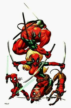 Deadpool family!!