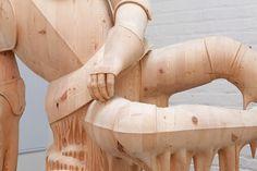 Esculturas clásicas de madera