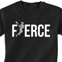 Girls lacrosse Short Sleeve Tshirt exclusively from LuLaLax.com!