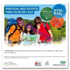 Cp disponibiliza descontos em Intra-Rails desde 58€