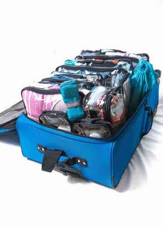 i Drawing Portrait Horse 3 Set Packing Cubes,2 Various Sizes Travel Luggage Packing Organizers