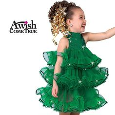 A Wish Come True Holiday Characters :Rockin Around The Xmas Tree - Character Dance Costume Girls Dance Costumes, Cute Costumes, Dance Outfits, Girl Outfits, Christmas Tree Costume, Christmas Costumes, Xmas Tree, Costume Carnaval, Ugly Christmas Sweater