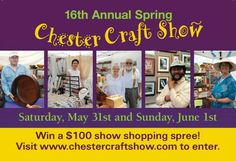 16th Annual SPRING Chester Craft Show