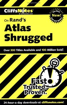 PHILOSOPHY Amazon.com: CliffsNotes on Rand's Atlas Shrugged (Cliffsnotes Literature Guides) (0785555024342): Andrew Bernstein: Books