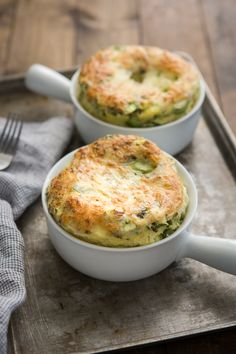 A simple vegetable egg bake for any day of the week using vegetables, cheese, grains, and herbs you might have on hand! Egg Recipes For Dinner, Brunch Recipes, Breakfast Recipes, Breakfast Ideas, Savory Breakfast, Protein Breakfast, Low Carb Recipes, Vegetarian Recipes, Cooking Recipes