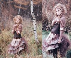 forest witch - like the layers in the costuming