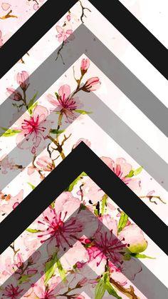 Pink Chevron Wallpaper, Flamingo Wallpaper, Aztec Wallpaper, Flowery Wallpaper, Flower Phone Wallpaper, Cute Wallpaper For Phone, Cute Patterns Wallpaper, Love Wallpaper, Mobile Wallpaper