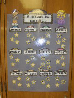 Hollywood Theme Bulletin Boards | Hollywood Themed Classroom