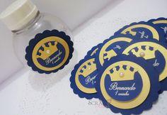 Tag Coroa Personalizada - 6cm